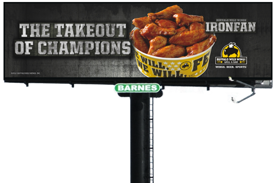 Buffalo Wild Wings Billboard